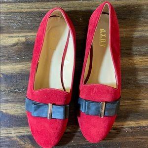A.X.N.Y Red/Black FRIDA size 11